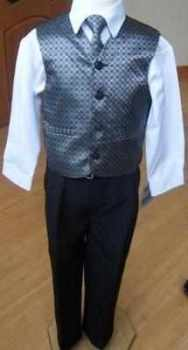 Code:109, Boys grey waistcoat suit...........