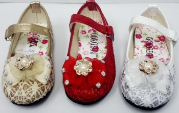 """Code:HS885, """"Gorgeous Collection"""" Girls Party Shoes £4.50.  pk6......."""