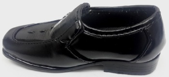 """Code:1405-3, """"Gorgeous Collection"""" Boys formal black shoes £7.50.  pk12..."""