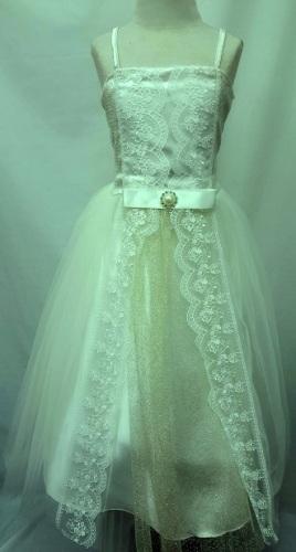 P06CRM, A beautiful sleeveless cream dress £17.50.  pk3....