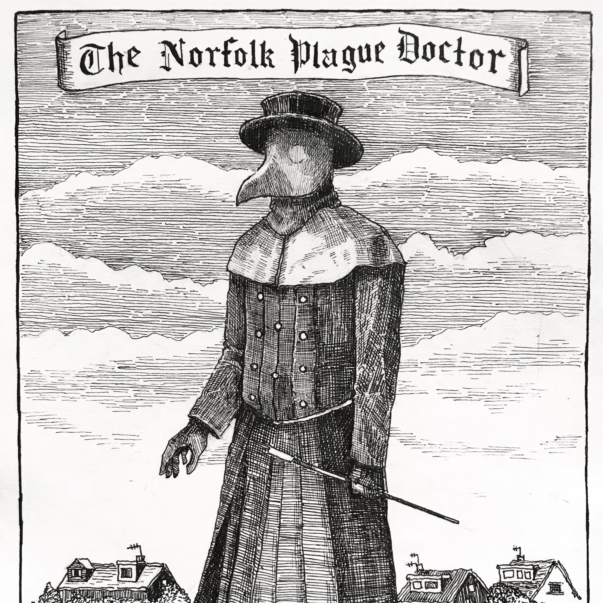 The Norfolk Plague Doctor