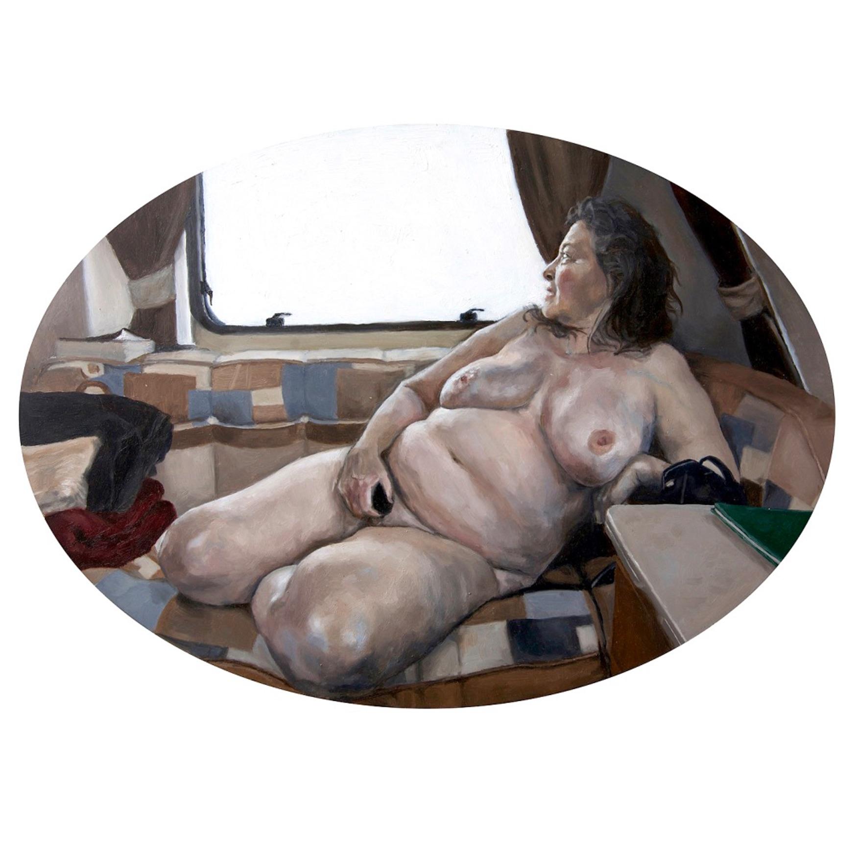 Nude in Caravan