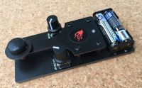 TK20 Morse training Key with built in Morse Tutor Fully Built and Tested