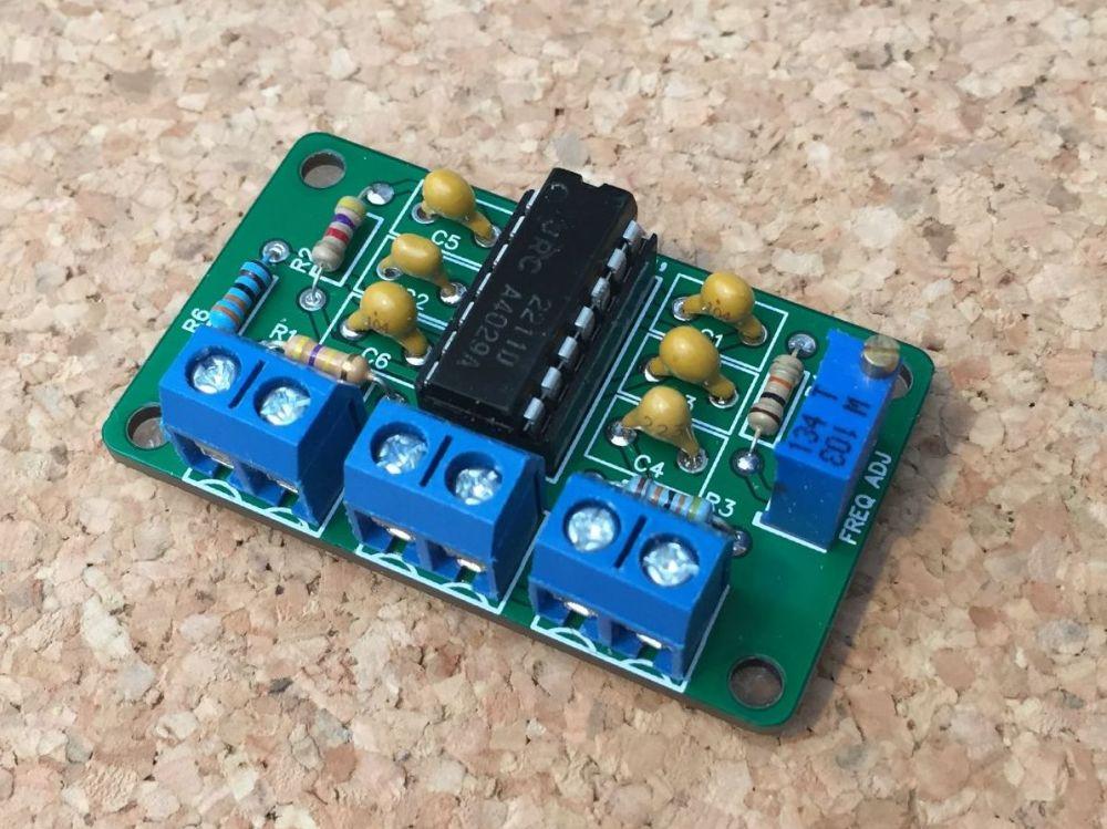 CW Magic Eye CW Tune Indicator Module Kit