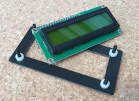Bezel and Spacers for 1602 LCD Display Module