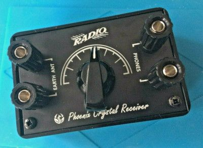 Phoenix Crystal Receiver Fully Built and Tested