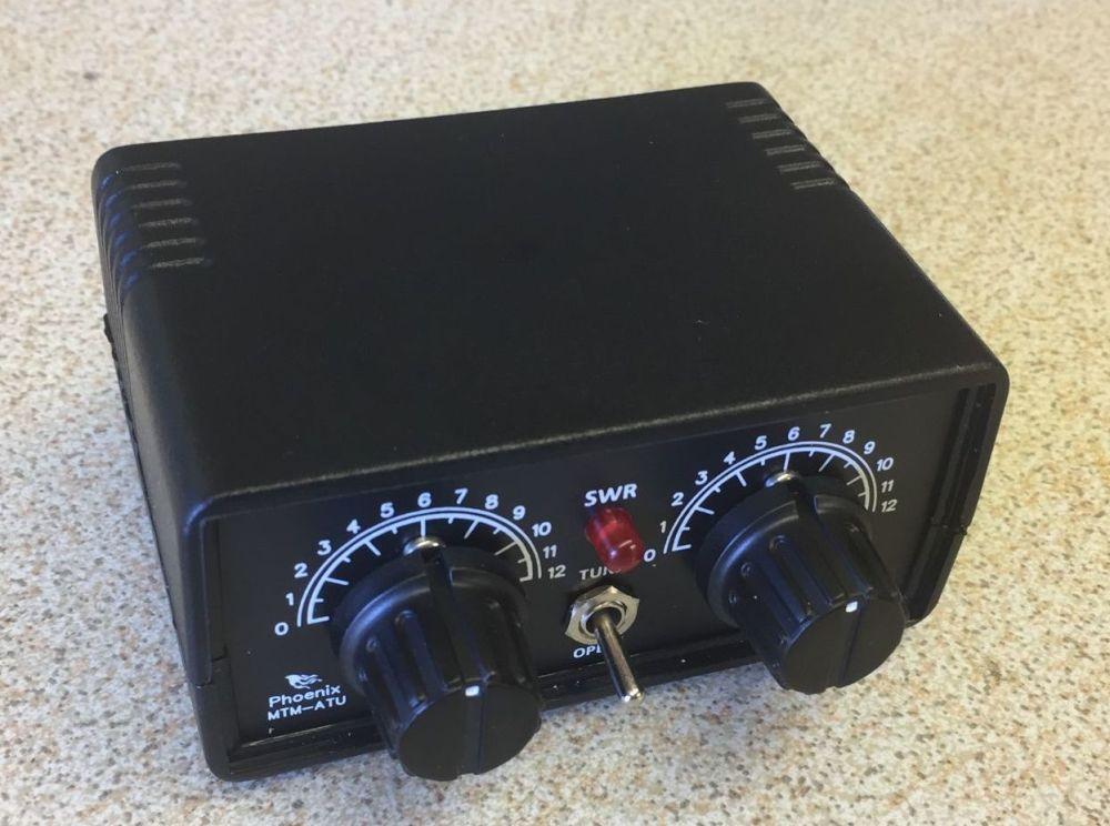 MTM-ATU The QRP Transmatch ATU  BNC version