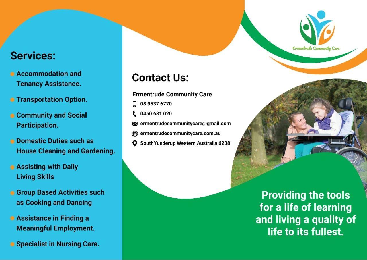 Ermentrude Community Care Brochure