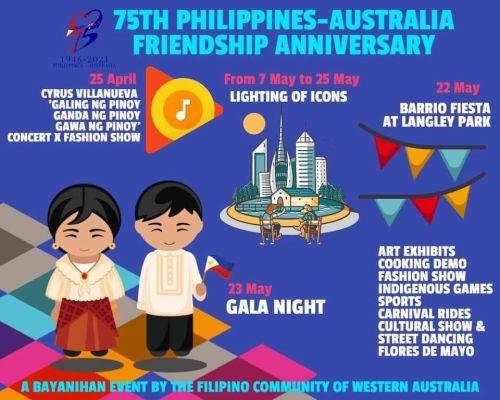 Phillipines-Australia Friendship Anniversary Perth 2021