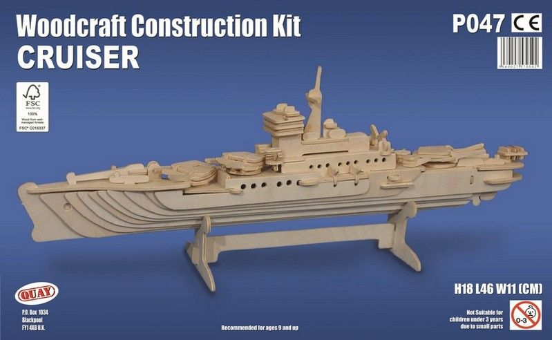 Cruiser Woodcraft Construction Kit