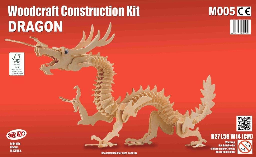 Dragon Woodcraft Construction kit