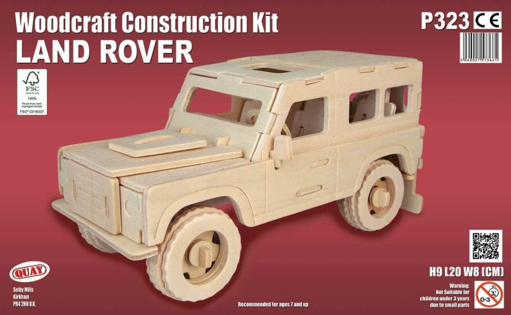Land Rover Woodcraft Construction kit
