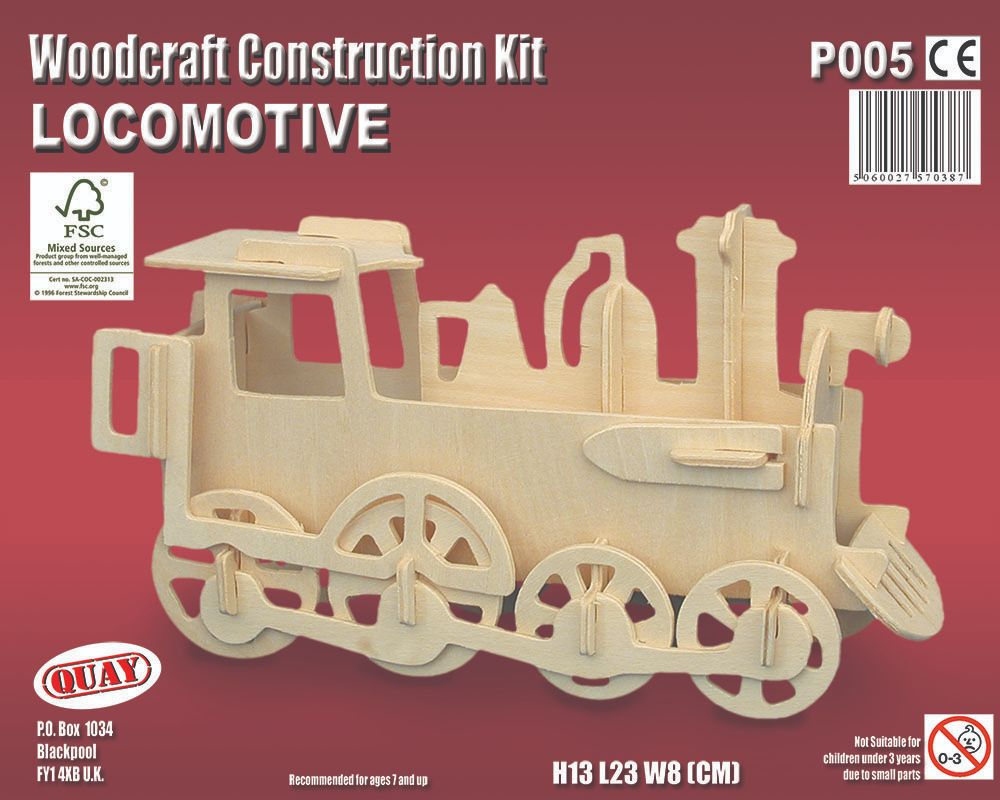 Locomotive Model Construction Kit