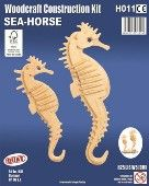 Sea-Horses with stand