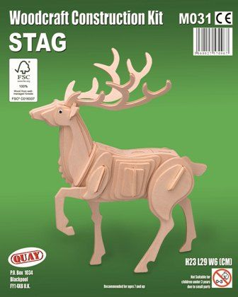 Stag Woodcraft Construction Kit