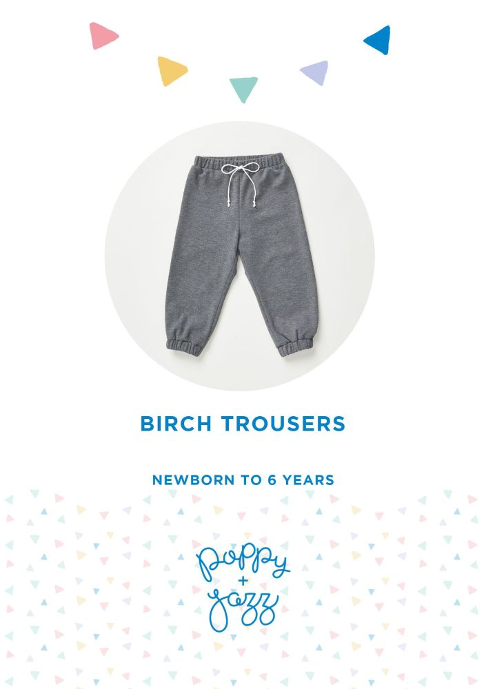 Birch Trousers - Poppy & Jazz