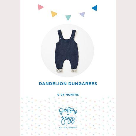 Dandelion Dungarees - Poppy & Jazz