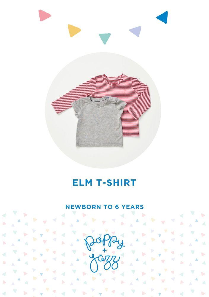 Elm T-shirt - Poppy & Jazz