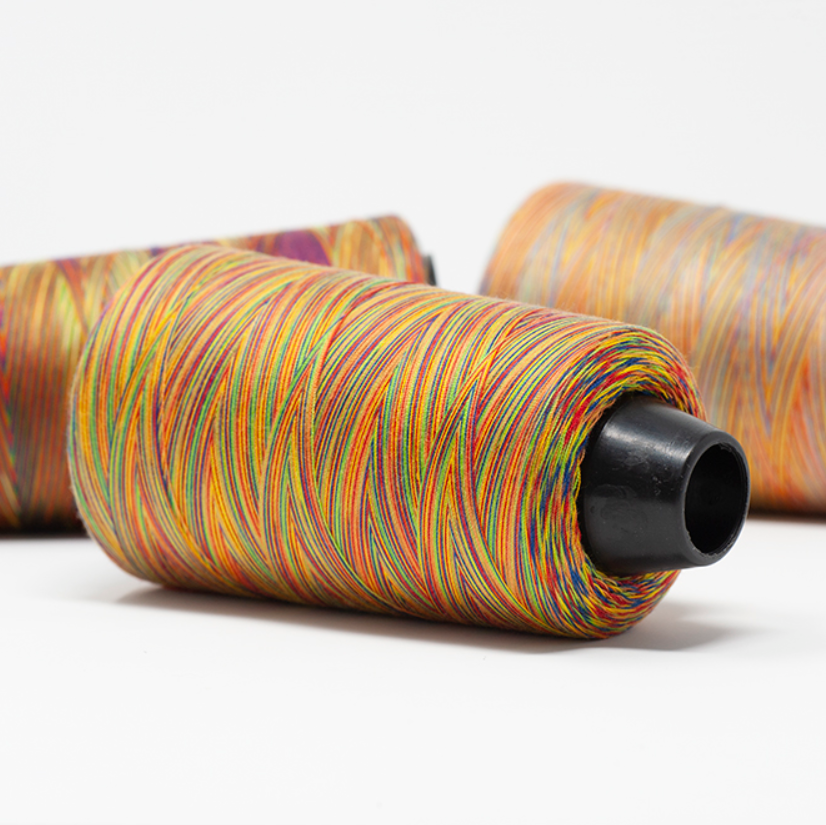 Rainbow Overlocker Thread/Cone - 3000m
