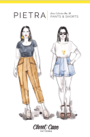 Pietra Pants and Shorts - Closet Core Patterns