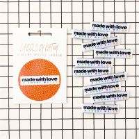 Made With Love + Rainbow Swear Words - KATM Woven Labels