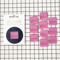 Perfectly Imperfect - KATM Woven Labels