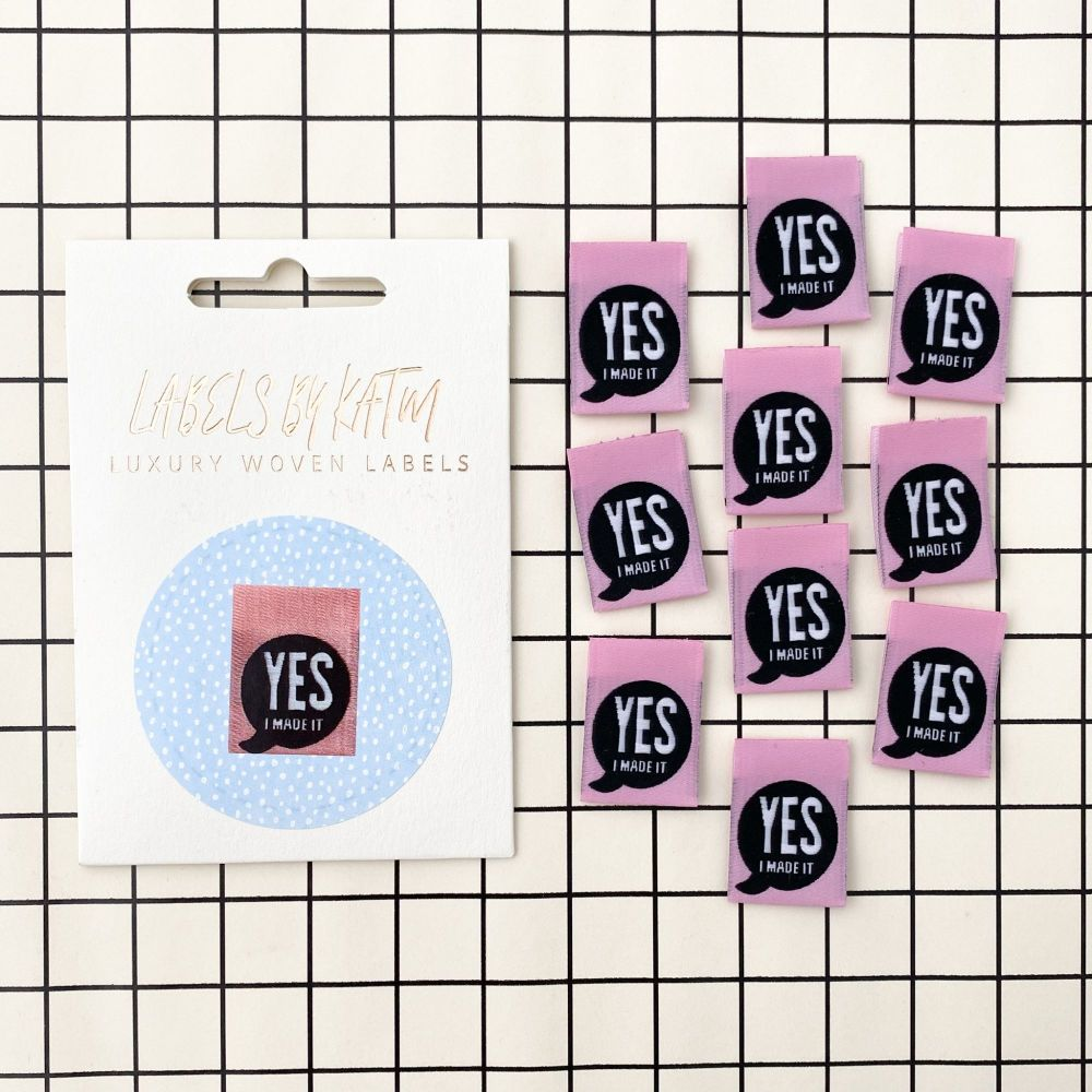 Yes I Made It - KATM Woven Labels