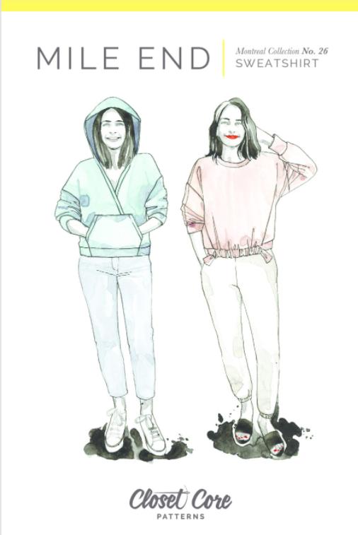 Mile End Sweatshirt - Closet Core Patterns
