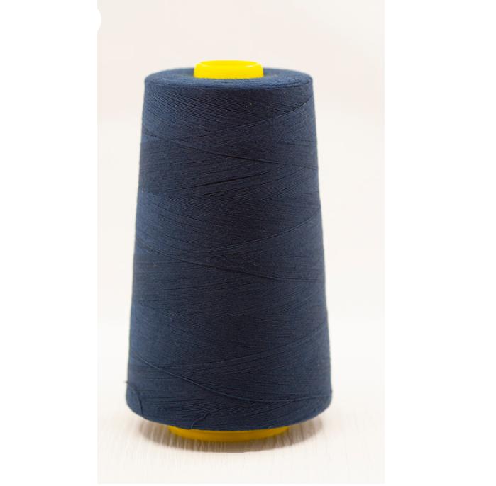 Navy Overlocker Thread/Cone - 5000 yards