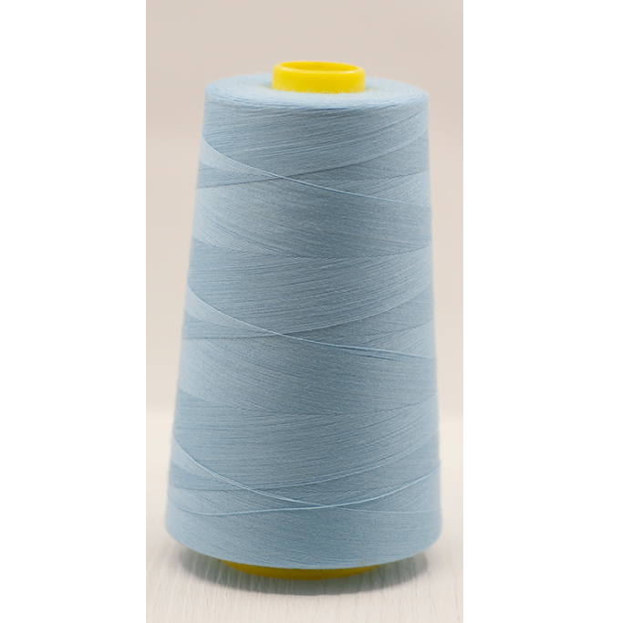 Sky Blue Overlocker Thread/Cone - 5000 yards