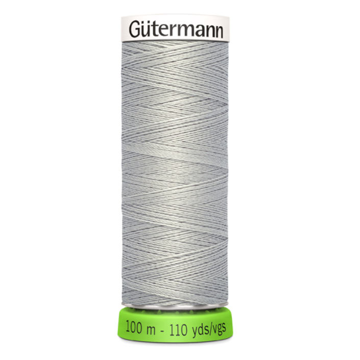 Gutermann Recycled Polyester Sewing Thread - 100m - 38 Grey