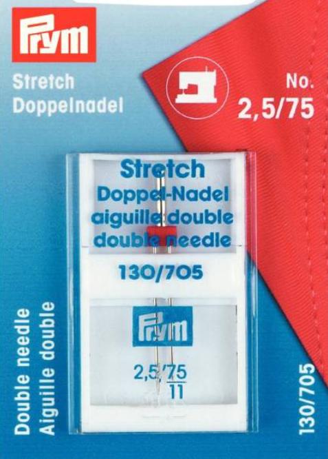 Stretch Twin Needle - Size 75