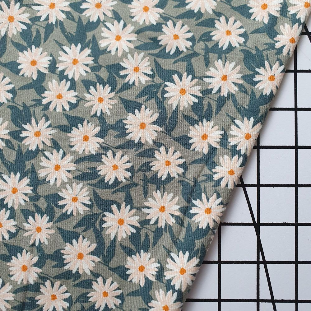 Mildreds Daisies - AGF Cotton Jersey