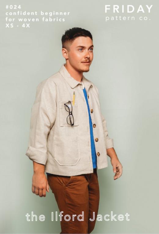 The Ilford Jacket - Friday Pattern Company