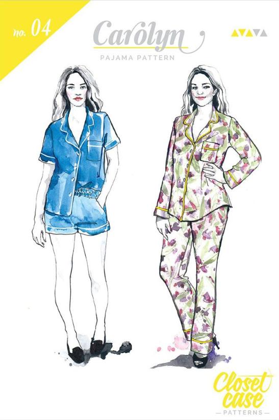 Carolyn Pyjamas - Closet Core Patterns