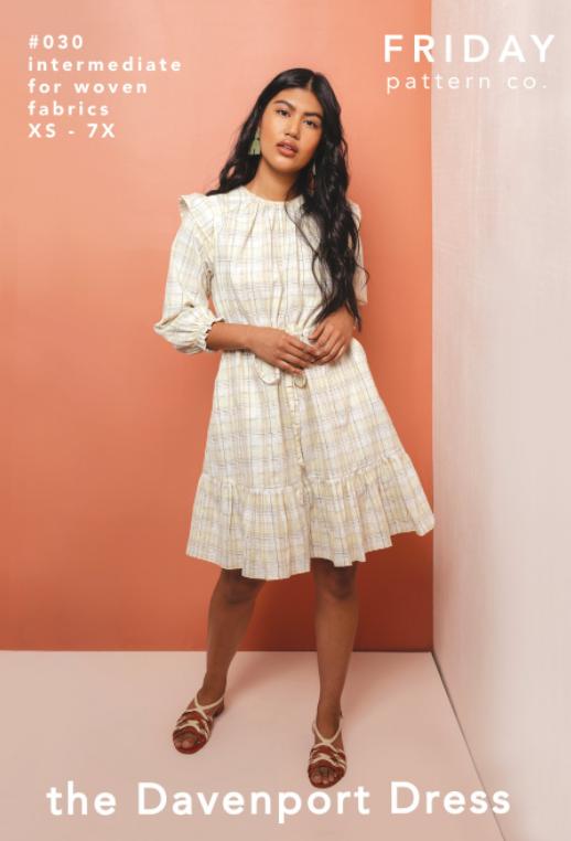 The Davenport Dress - Friday Pattern Company