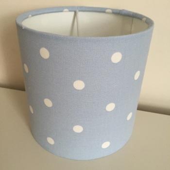 Blue Spot Lampshade