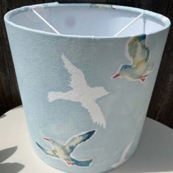 Blue Seagull Lampshade