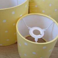 Yellow Spot Lampshade - Nursery