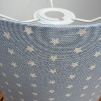 Twinkle Pale Light Baby Blue Star Stars Lampshade