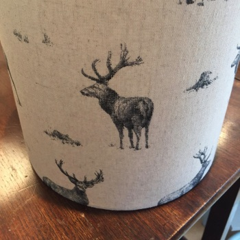 Stag Woodland Lampshade
