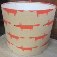 Fox Ginger Orange Lampshade