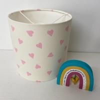 Pink Heart Lampshade