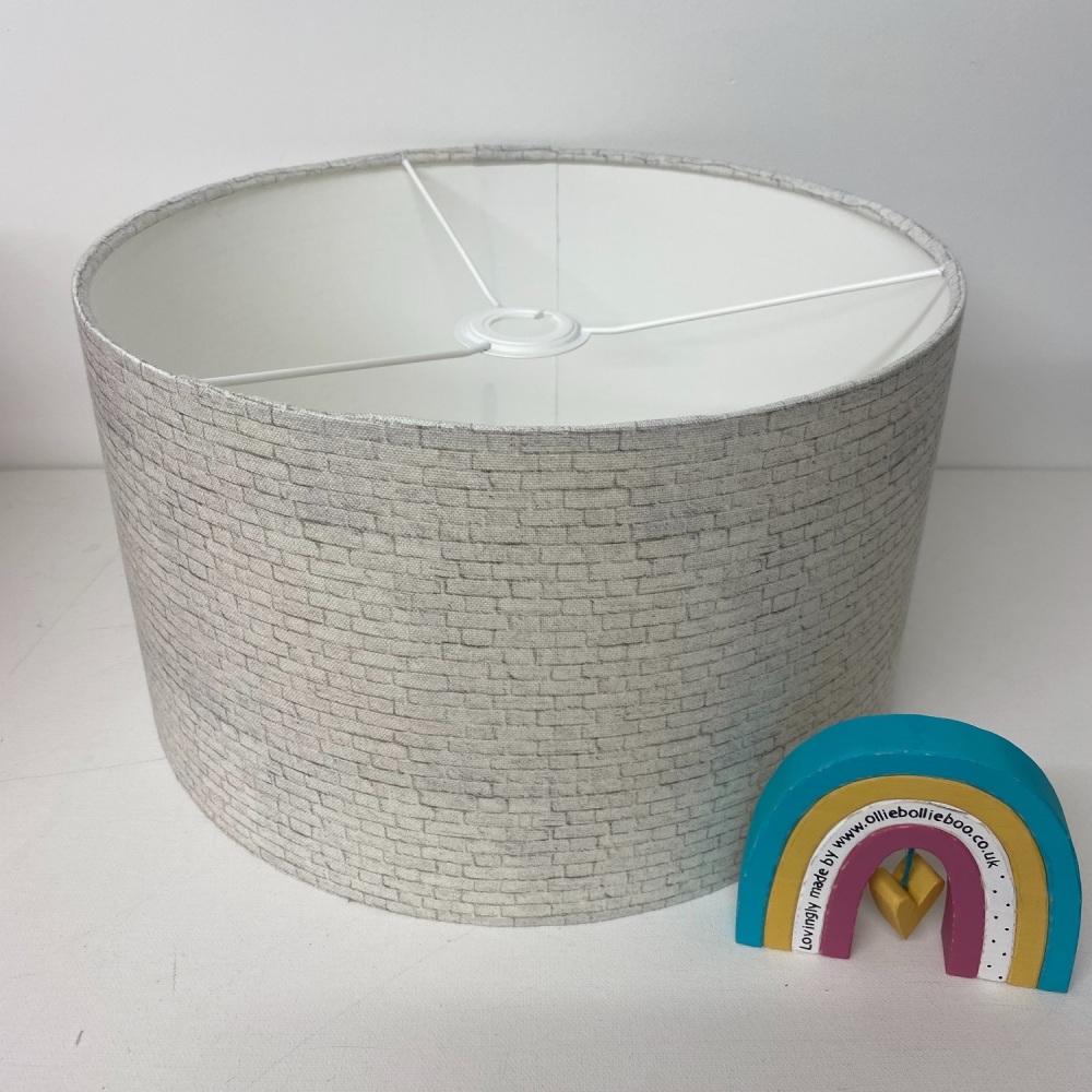 White brick Lampshade