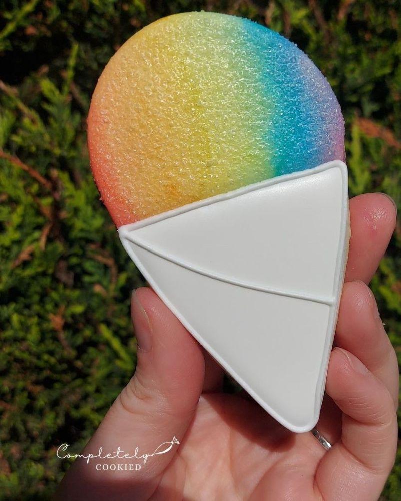 Rainbow snowcone