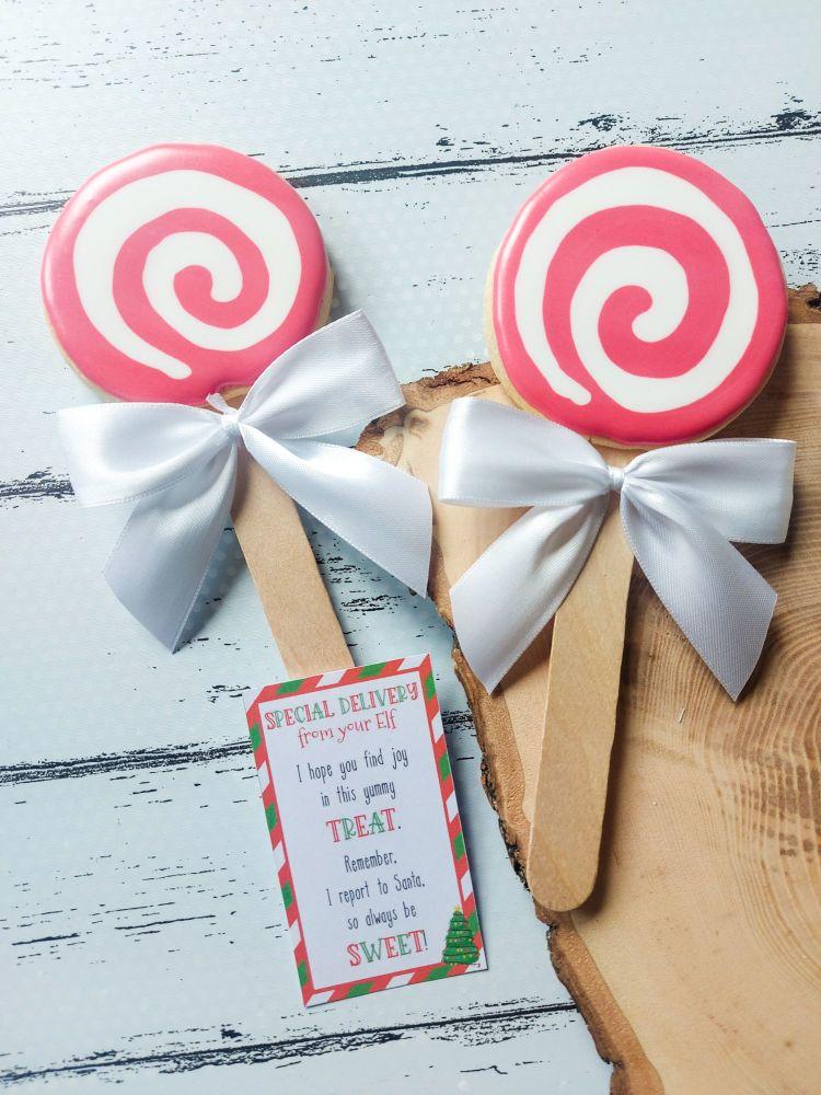 Elf antics - Sweet treats