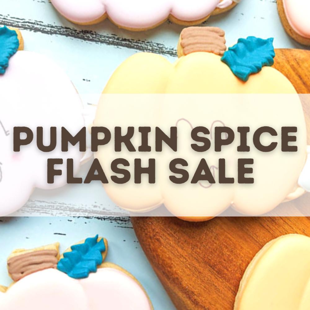 Pumpkin Spice Flash Sale
