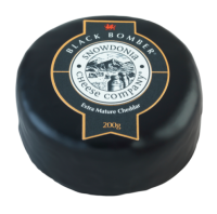 Snowdonia Cheese Company Black Bomber Mature Cheddar Wax Truckle 200g