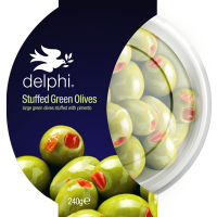 Stuffed Green Olives with Pimento 240g