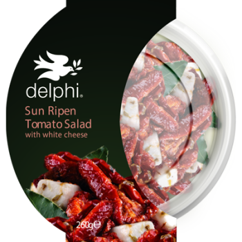 Delphi Foods Sun-Ripened Tomatoes with White Cheese 260g